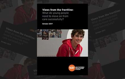 Views from the frontline: what do young people need to move on from care successfully?