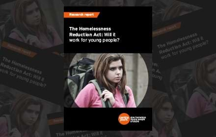 The Homelessness Reduction Act: will it work for young people