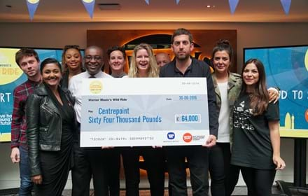 Warner Music fundraising cheque presentation.jpg