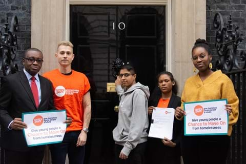 Chance to Move On petition at 10 Downing Street