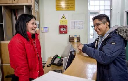 Centrepoint helps with housing for homeless young people. A young person gets accommodation with Centrepoint's help.