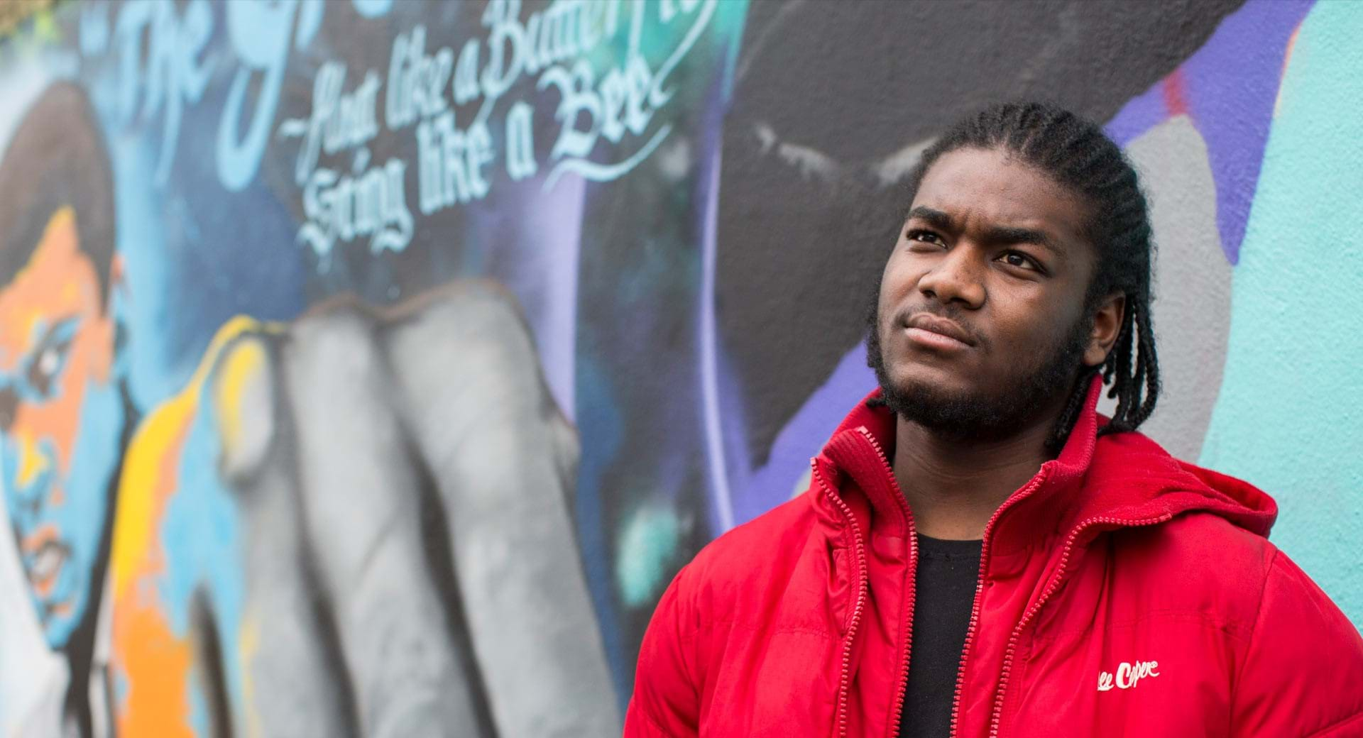 Abdul, a Centrepoint young person.