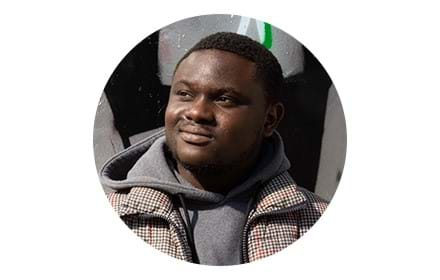 An image of a young man supported by Centrepoint. You can help fund support services for young people who have slept rough by sponsoring a room at Centrepoint.