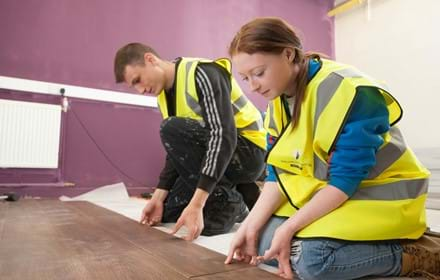 Centrepoint Bradford Volunteering Week - Wilmott  Dixon work experience session - PLEASE CREDIT John Furlong (18).jpg
