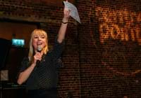 Sara Cox at Ultimate Pub Quiz