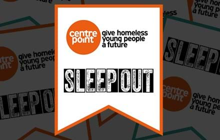 Centrepoint Sleep Out bunting