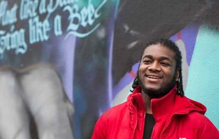 Abdul, a Centrepoint young person