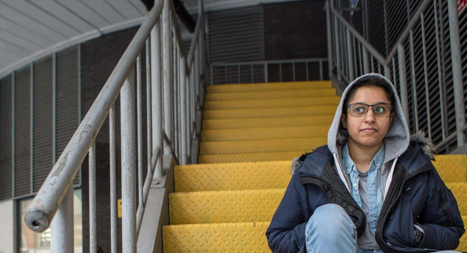 Centrepoint help give homeless young people like Aidan a future.
