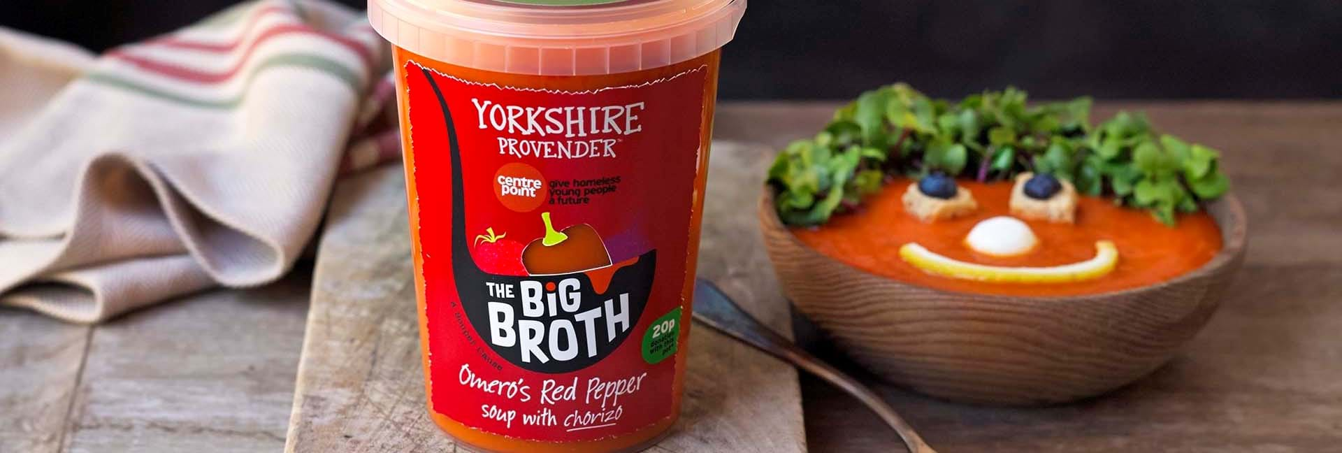 Yorkshire Provender's Big Broth soup