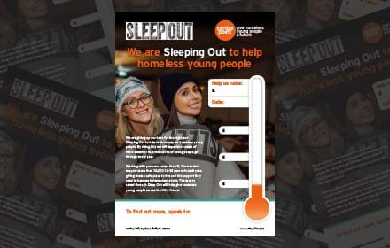 Adult Sleep Out Poster
