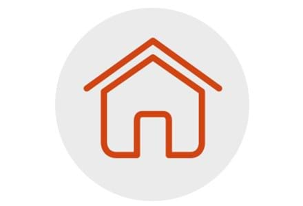 Centrepoint provides housing for homeless young people: a graphic representing that young people move on positively after leaving Centrepoint.