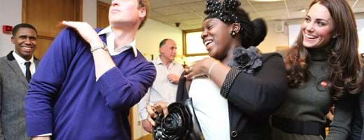 HRH the Duke of Cambridge practises 'the swag dance' with Vanessa Boetang at Camberwell Foyer Dec 2011. by_Harriet_Armstrong.jpg (1)