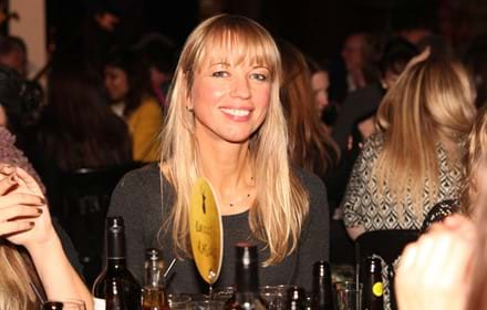 Sara Cox at 2015 Ultimate Pub Quiz