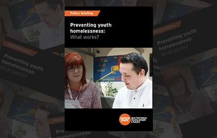 Preventing youth homelessness: what works?