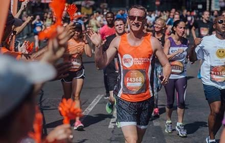 A Centrepoint runner takes on the British 10K.