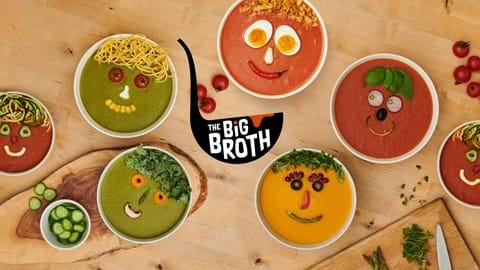Host The Big Broth on Friday 2 November, serve soup for friends, top it with a smile and raise money to help homeless young people.