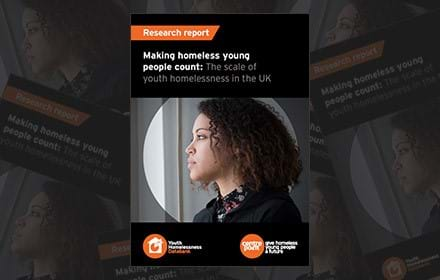 Making homeless young people count: the scale of youth homelessness