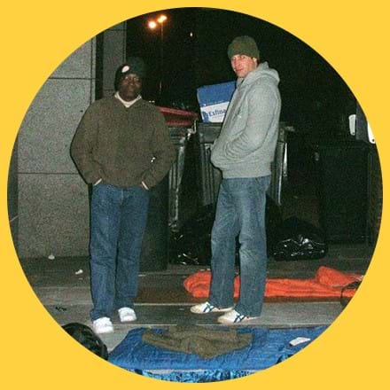 Prince William and Seyi Obakin Sleep Out in circle.jpg